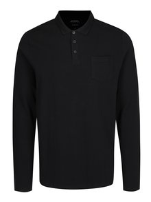 Bluza polo neagra - Burton Menswear London