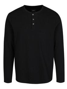 Bluza neagra cu nasturi - Burton Menswear London