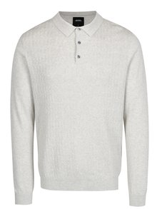 Béžový sveter s golierom Burton Menswear London