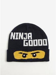 Tmavě modrá klučičí čepice se vzorem Ninjago Lego Wear Ayan