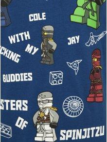 Modré klučičí tričko s potiskem Ninjago Lego Wear Teo