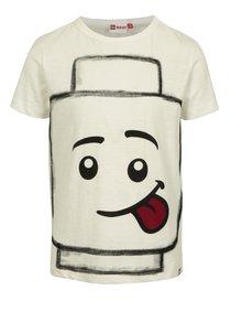 Krémové klučičí tričko s potiskem Lego Wear Teo