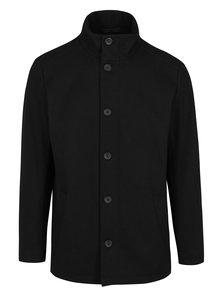 Čierna vlnená bunda Jack & Jones Premium Moolin