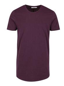 Vínové basic tričko pod košeľu Jack & Jones Premium Hugo