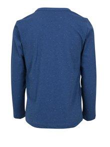 Tmavě modré klučičí tričko s potiskem a výšivkou Lego Wear Teo