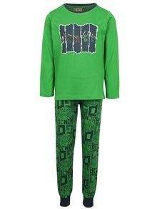 Zelené klučičí pyžamo Ninjago Lego Wear Nicolai