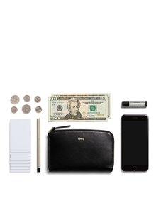 Čierna dámska kožená peňaženka Bellroy Pocket