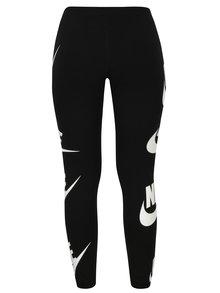 Colanti sport negri cu print pentru femei - Nike