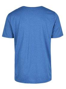 Modré pánské funkční tričko s krátkým rukávem Nike