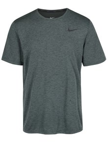 Tricou verde melanj barbatesc Nike