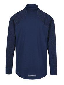 Modré pánske funkčné tričko s dlhým rukávom Nike