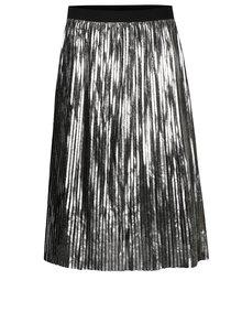 Plisovaná sukňa v striebornej farbe ONLY Willemina