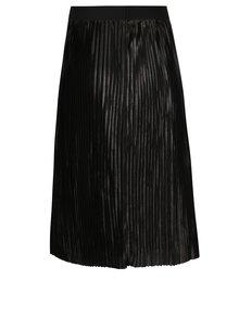 Černá plisovaná sukně ONLY Willemina