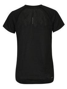 Čierne dámske funkčné tričko s krátkym rukávom Nike