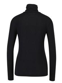 Bluza neagra cu guler inalt - VERO MODA Charly