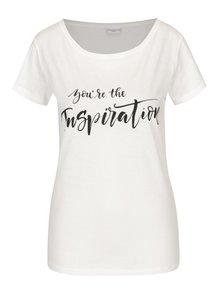 Krémové tričko s potiskem Jacqueline de Yong Chicagos