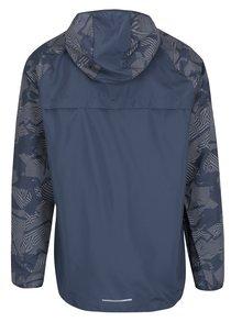 Modrá vzorovaná pánska funkčná bunda Nike