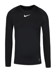 Bluza sport functionala neagra barbateasca Nike
