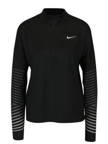 Černé dámské funkční tričko s dlouhým rukávem Nike Element Flash
