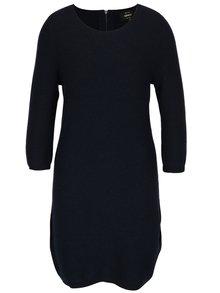 Rochie pulover bleumarin cu maneci 3/4 ONLY Filippa