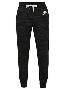 Pantaloni sport negru melanj pentu femei Nike Sportswear Gym
