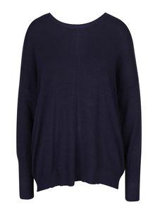 Tmavomodrý sveter so zipsom na chrbte Blendshe Jessie
