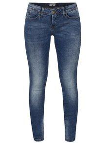 Modré skinny džíny s vyšisovaným efektem Blendshe Nova Blondie