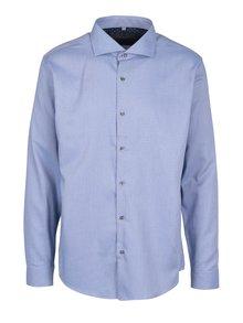 Modrá vzorovaná formální košile Seven Seas Mr M3