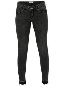 Tmavě šedé džíny s vyšisovaným efektem Blendshe Nova Blondie