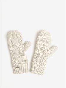 Krémové dámske rukavice GANT