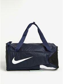 Tmavě modrá sportovní taška Nike Alpha Adapt 37 l