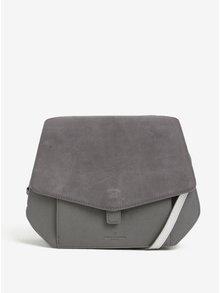 Sivá kabelka so semišovou chlopňou Paul's Boutique Grayson
