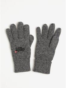 Šedé pánské rukavice Superdry Orange