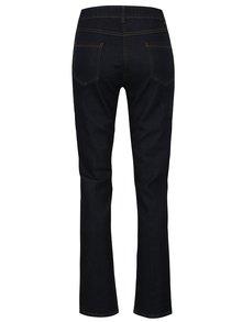 Tmavě modré straight džíny s vysokým pasem M&Co
