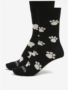 Sada dvou unisex ponožek v černé barvě Fusakle Maco tatranský
