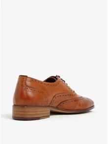 Pantofi brogue maro din piele naturală -  London Brogues Wister Oxford