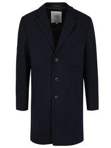 Palton bleumarin din amestec de lana - Jack & Jones Premium Martin