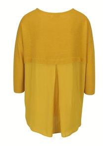 Žlté oversize tričko Louche London