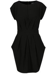 Čierne šaty s vreckami Closet
