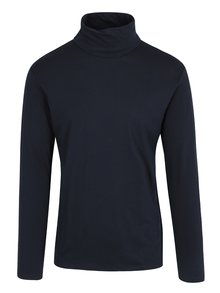 Tmavě modré tričko s rolákem Lindbergh