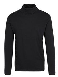 Černé tričko s rolákem Lindbergh