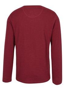 Červené tričko s dlhým rukávom Lindbergh