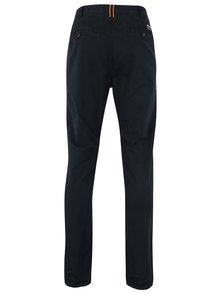 Tmavě modré pánské slim chino kalhoty Superdry Rookie