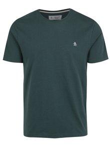 Tmavě zelené tričko s výšivkou Original Penguin