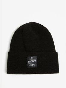 Caciula neagra cu aplicatie pentru barbati - Nugget Bandit