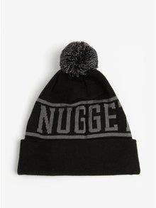 Caciula neagra cu pompon pentru barbati - Nugget Canister