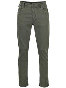 Svetlozelené pánske stretch tapered fit rifle Garcia Jeans