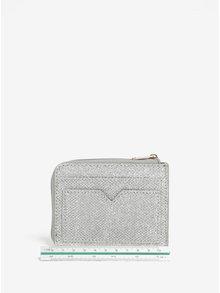 Malá peňaženka v striebornej farbe Dorothy Perkins