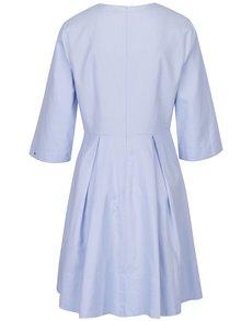 Světle modré šaty s 3/4 rukávem Tommy Hilfiger