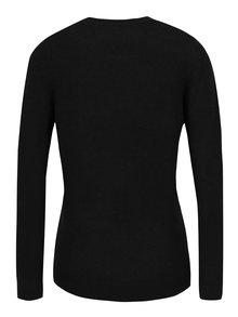 Pulover negru cu aplicatie din paiete fulg de nea Dorothy Perkins